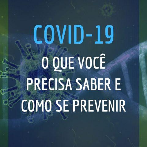 Tire suas dúvidas sobre o Novo Coronavírus
